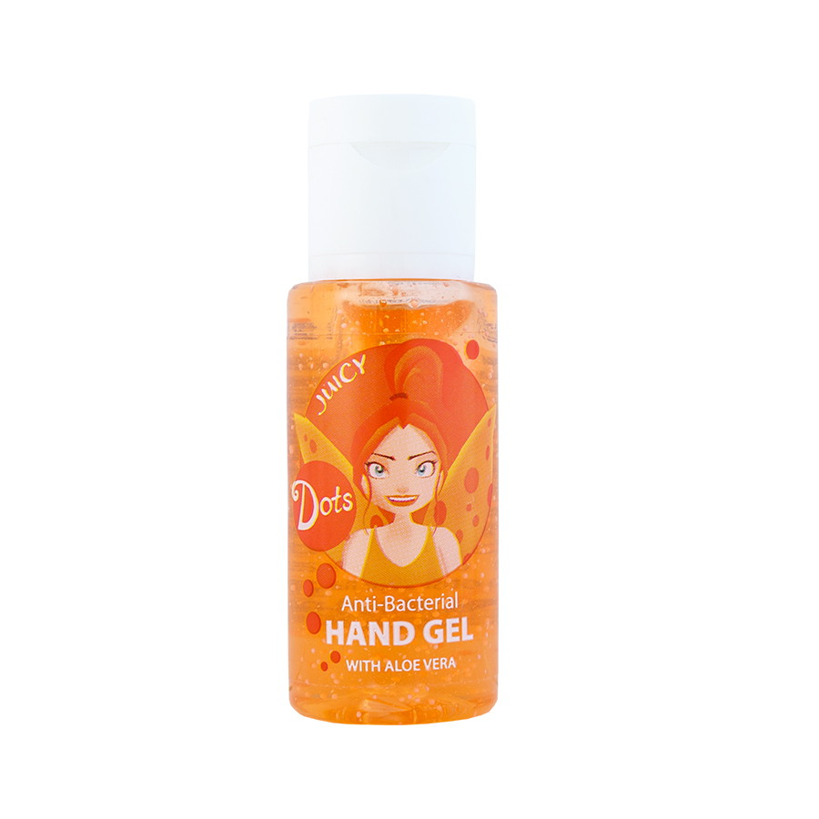 ANTIBACTERIAL HAND GEL WITH ALOE VERA - Juicy 30ml